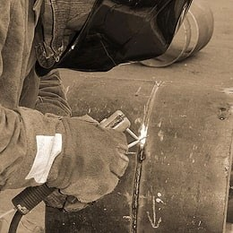 Испытания сварочного агрегата SHINDAIWA на Еристовском ГОК.