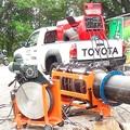 Сварка пластиковых больших труб и сварочный агрегат