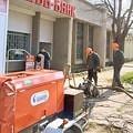 Замена трубопровода горячего водоснабжения и агрегат САК