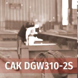 Колісний зварювальний агрегат DGW310-2S