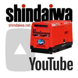 Відео про зварювальні апарати Shindaiwa на You Tube