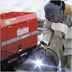 Сварочное оборудование с официального сайта Shindaiwа
