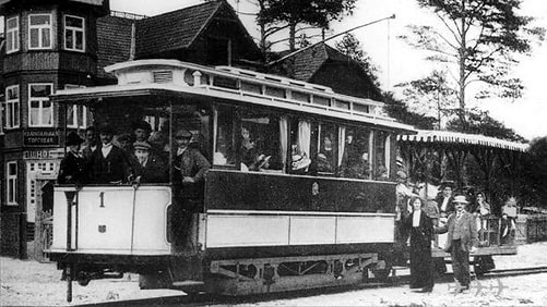 Первый киевский трамвай - 1892 г.