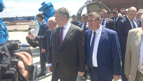 Президент України на виставці Суднобудування 2018