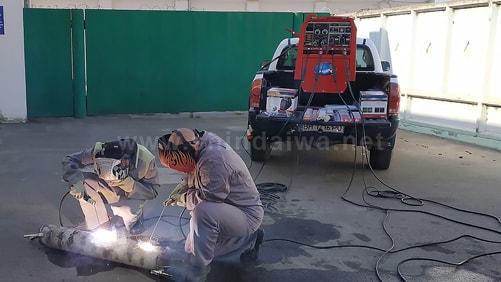 Випробування агрегату Shindaiwa в Ізмаїльському порту