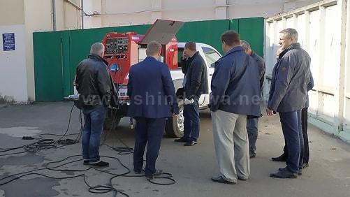 Представники підприємств Ізмаїла знайомляться з пристроєм САК Shindaiwa