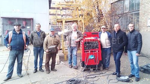 Автономный сварочный аппарат Shindaiwa на Киевпастранс