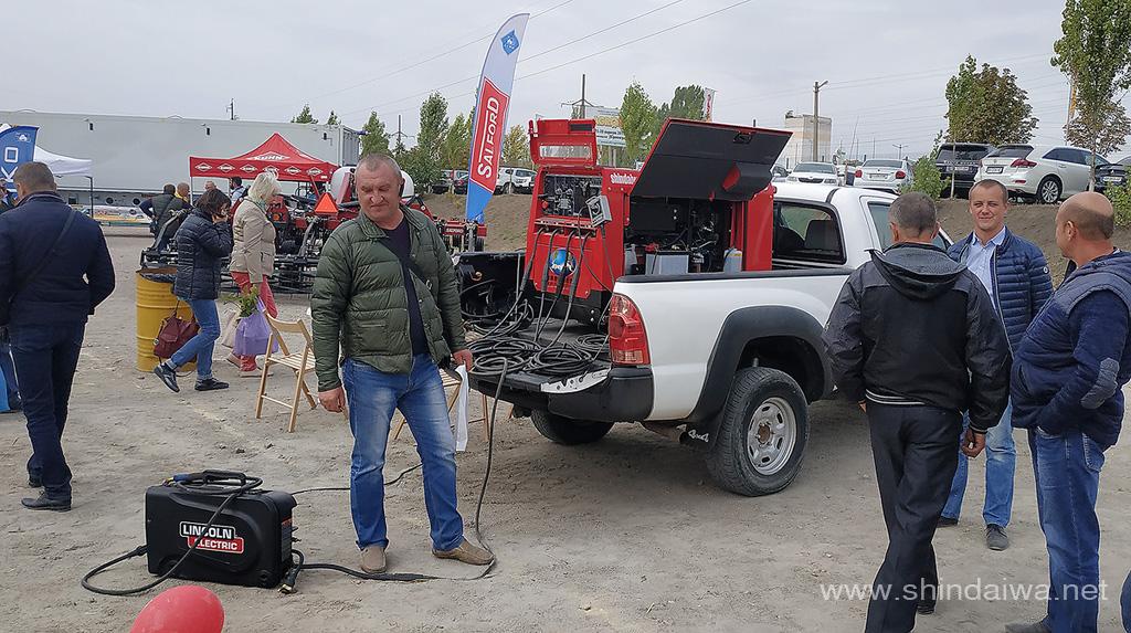 Автономний агрегат Шиндайва DGW500