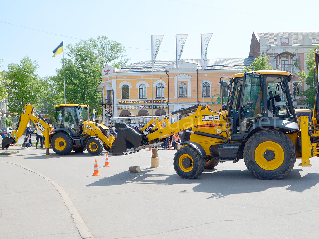 Соревнования между машинистами экскаваторов