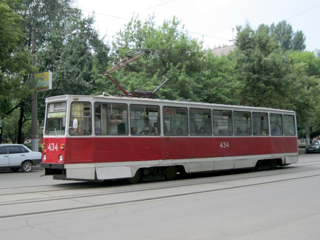трамвай из парка вагонов Криворожэлектротранс