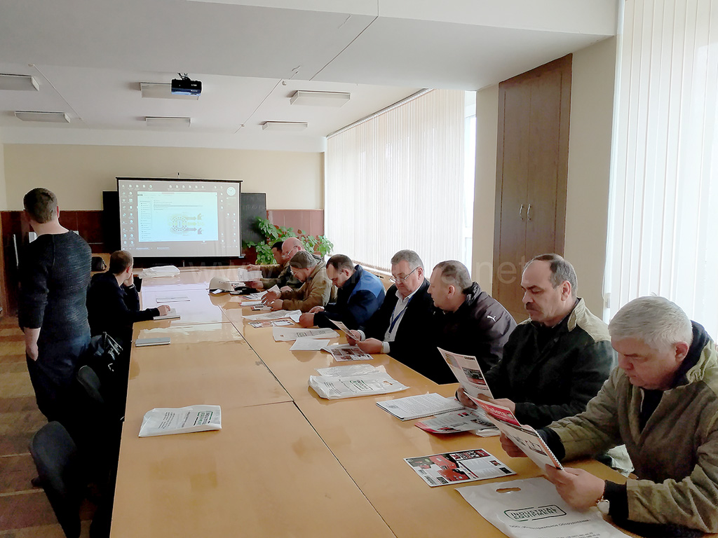 Фото семинара по сварочным агрегатам Shindaiwa 28 03 19