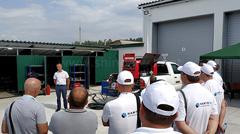 Презентация агрегата DGW500DM/RU представителем Shindaiwa в Украине.