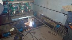Процес заміни водоизмерительного вузла на КП Черноморскводоканал