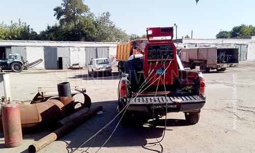 агрегат Shindaiwa DGW500 на Мариупольском ПУ ВКХ