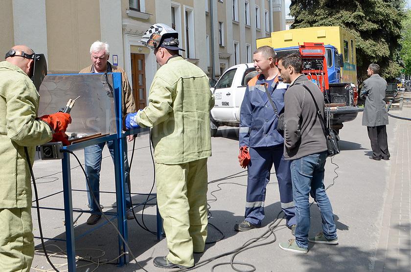 Специалисты коммунальных хозяйств Украины знакомятся с работой Shindaiwa