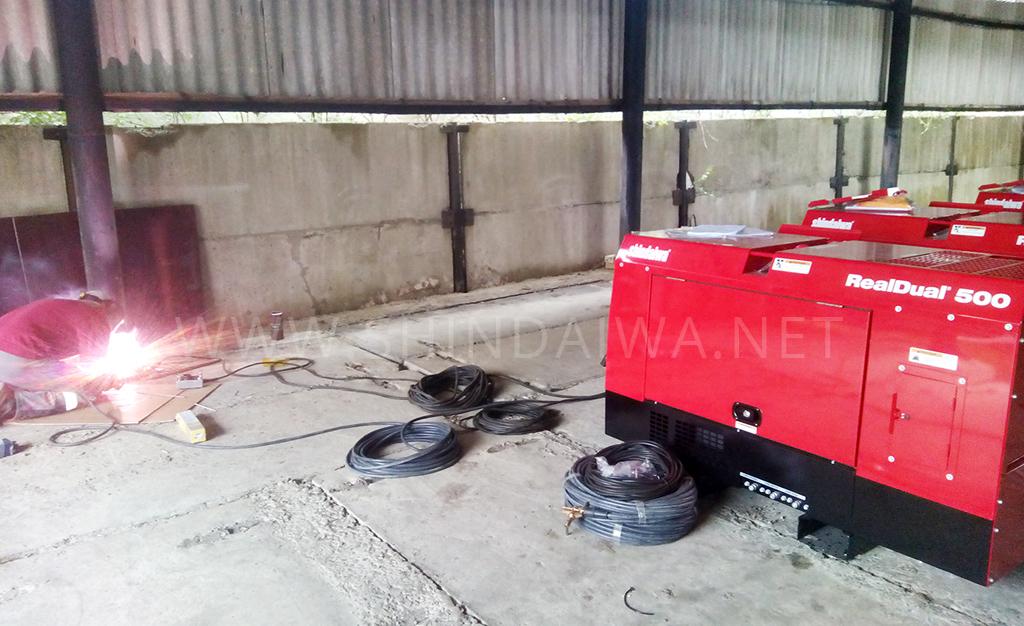 Испытания агрегатов Shindaiwa в Львове