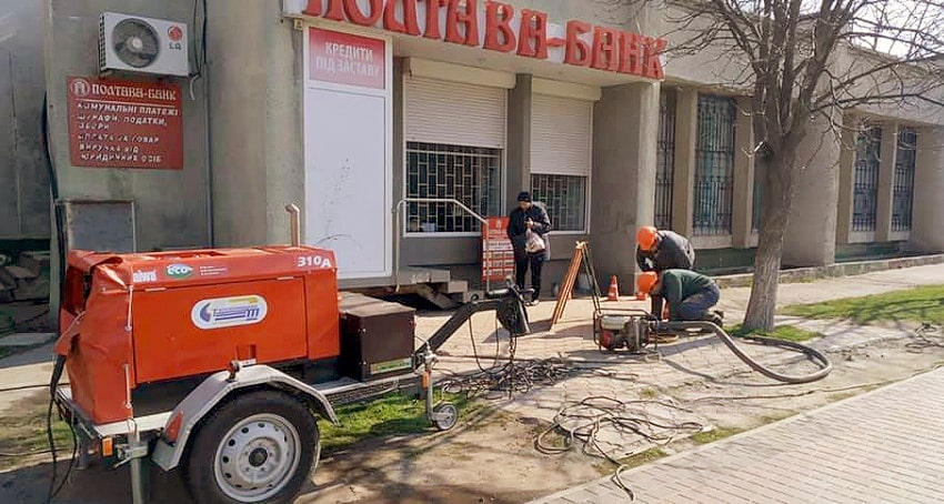 Заміна труб гарячого водопостачання Кременчуцьким КП Теплоенерго