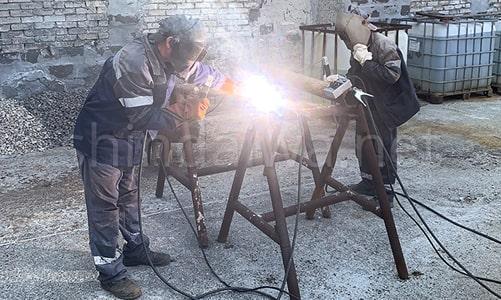 Сварочные агрегаты Shindaiwa на ККП Мариупольтеплосеть - фото 4