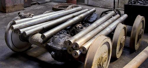 Ремонт колесных пар трамваев