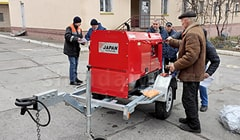 Проверка работоспособности Shindaiwa специалистами Укрзалiзниця