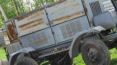 Зварювальний дизельний генератор САК б/у. Двигун ЯАЗ-204.