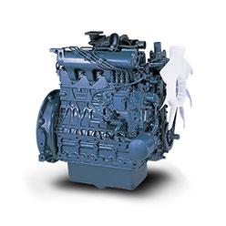 дизельный двигатель Kubota V2403