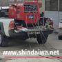 Испытания агрегата Shindaiwa на предприятии Termoelectrica