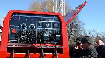 Огляд зварювального агрегату Shindaiwa DGW500