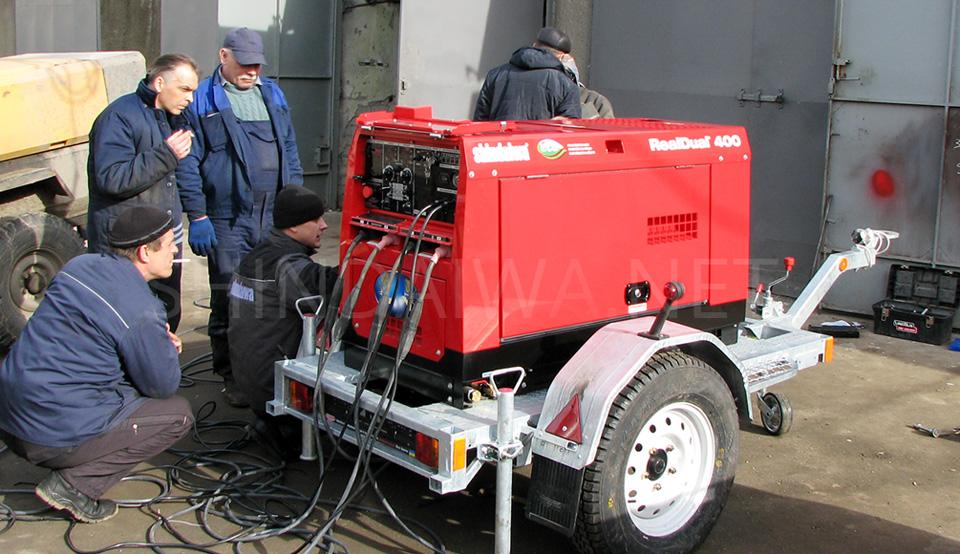 Спеціаліст Shindaiwa розповідає про технічні особливості агрегату DGW400