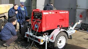 Специалист Shindaiwa рассказывает о технических особенностях агрегата DGW400